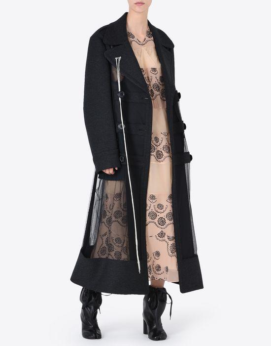 MAISON MARGIELA プリント シルクジョーゼット ドレス ロングワンピース・ドレス D d