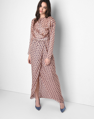 TRUSSARDI - Long dress