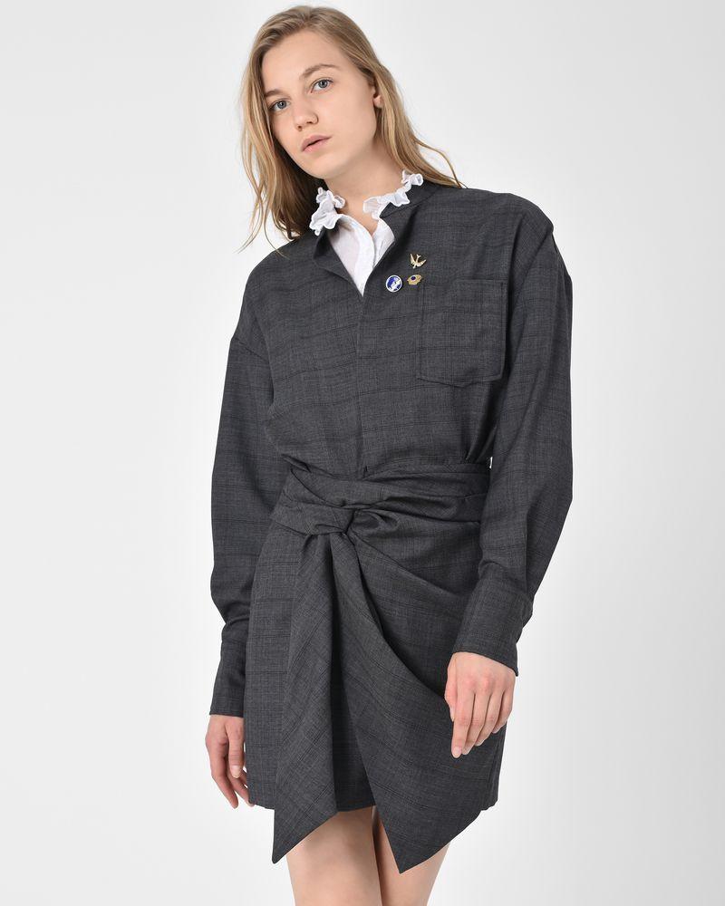 isabel marant short dress women official online store. Black Bedroom Furniture Sets. Home Design Ideas