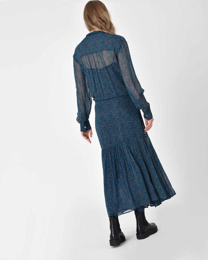 4a1622b133a29 ... Javene Floral print asymmetric maxi dress ISABEL MARANT ÉTOILE ...