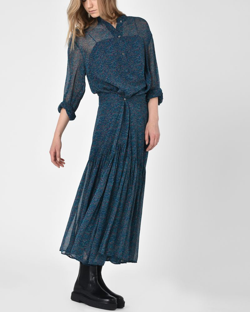 0ff43da308b7a ... Javene Floral-print asymmetric maxi dress ISABEL MARANT ÉTOILE ...