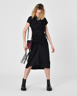 ISABEL MARANT MIDI DRESS D Else Feminine satin midi dress r