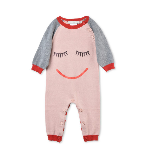 Tommy Pink Babygrow