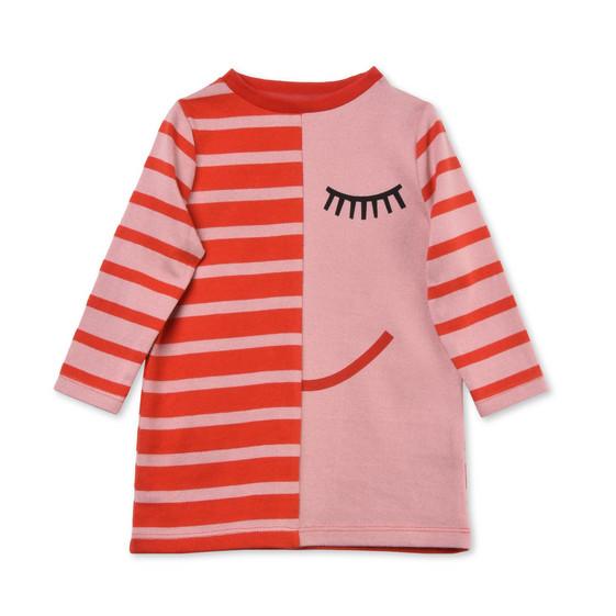 Charlotte Pink Face Print Dress