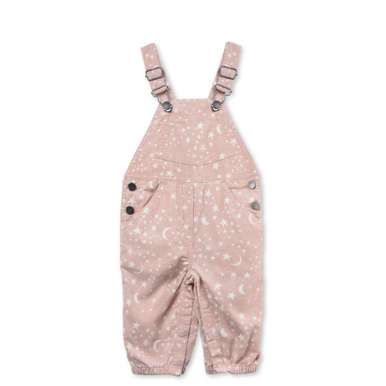 Olive Pink Dungarees