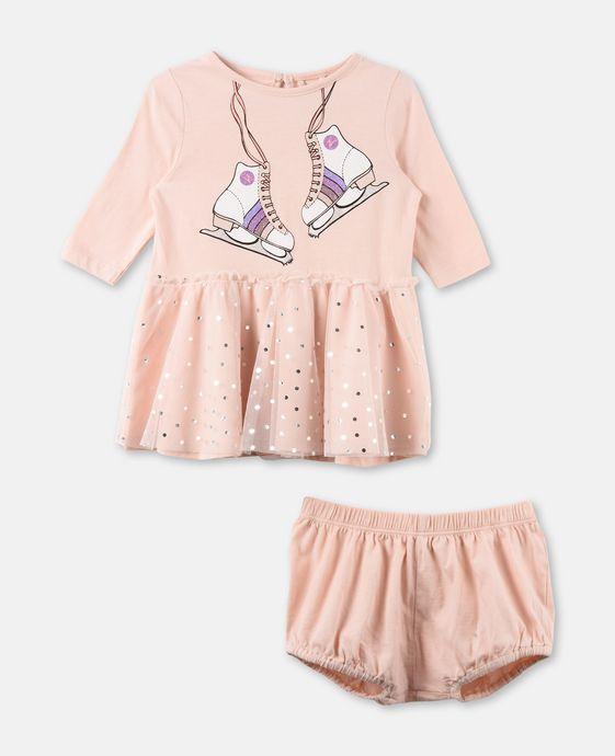 プリムローズ ピンク スケート ドレス