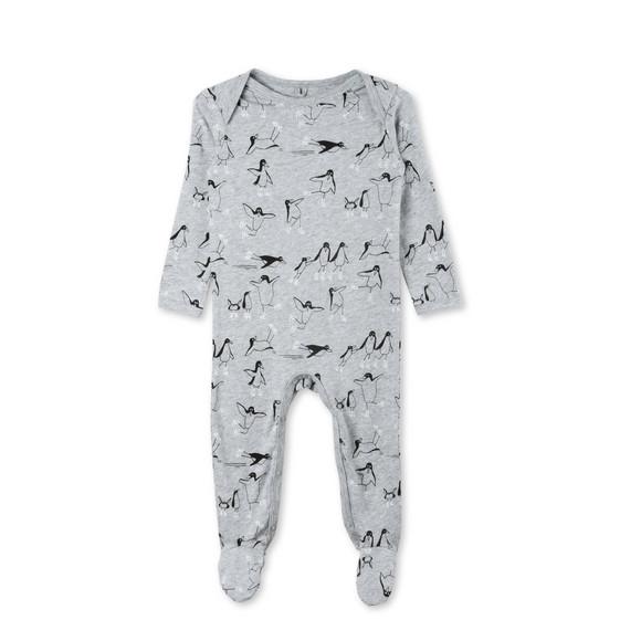 Rufus Penguin Print Babygrow