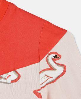 Robe Bessie avec imprimé cygnes