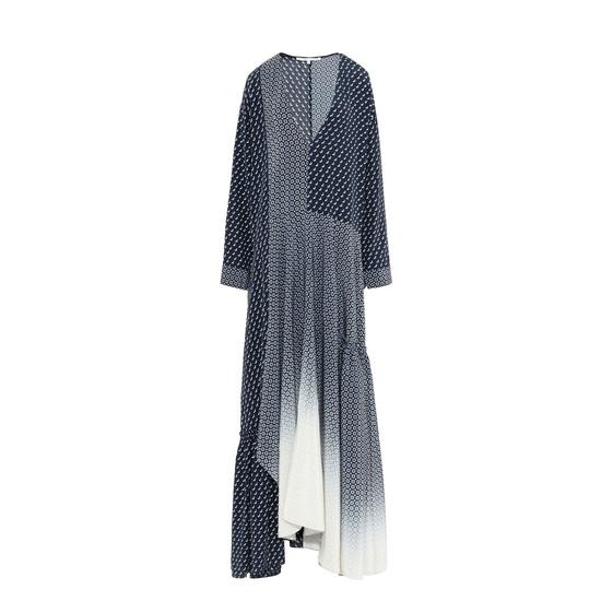 Dominique Tie Print Dress