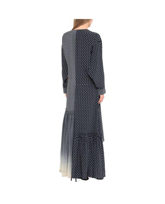 STELLA McCARTNEY Dominique Tie Print Dress Maxi D g
