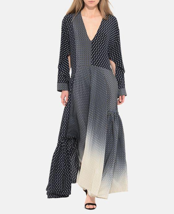 STELLA McCARTNEY Dominique Tie Print Dress Maxi D h