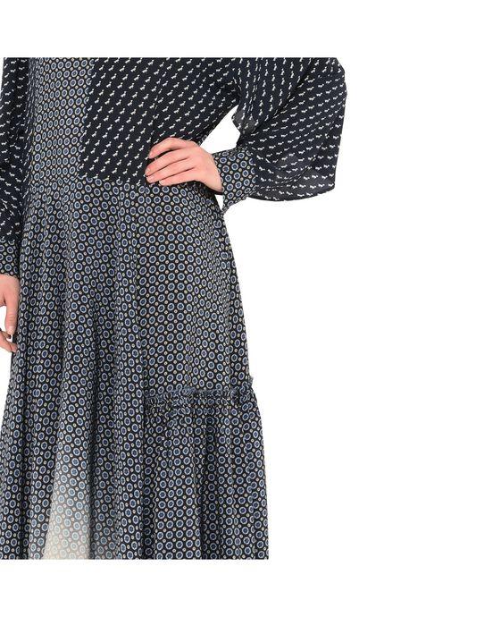 STELLA McCARTNEY Dominique Tie Print Dress Maxi D p