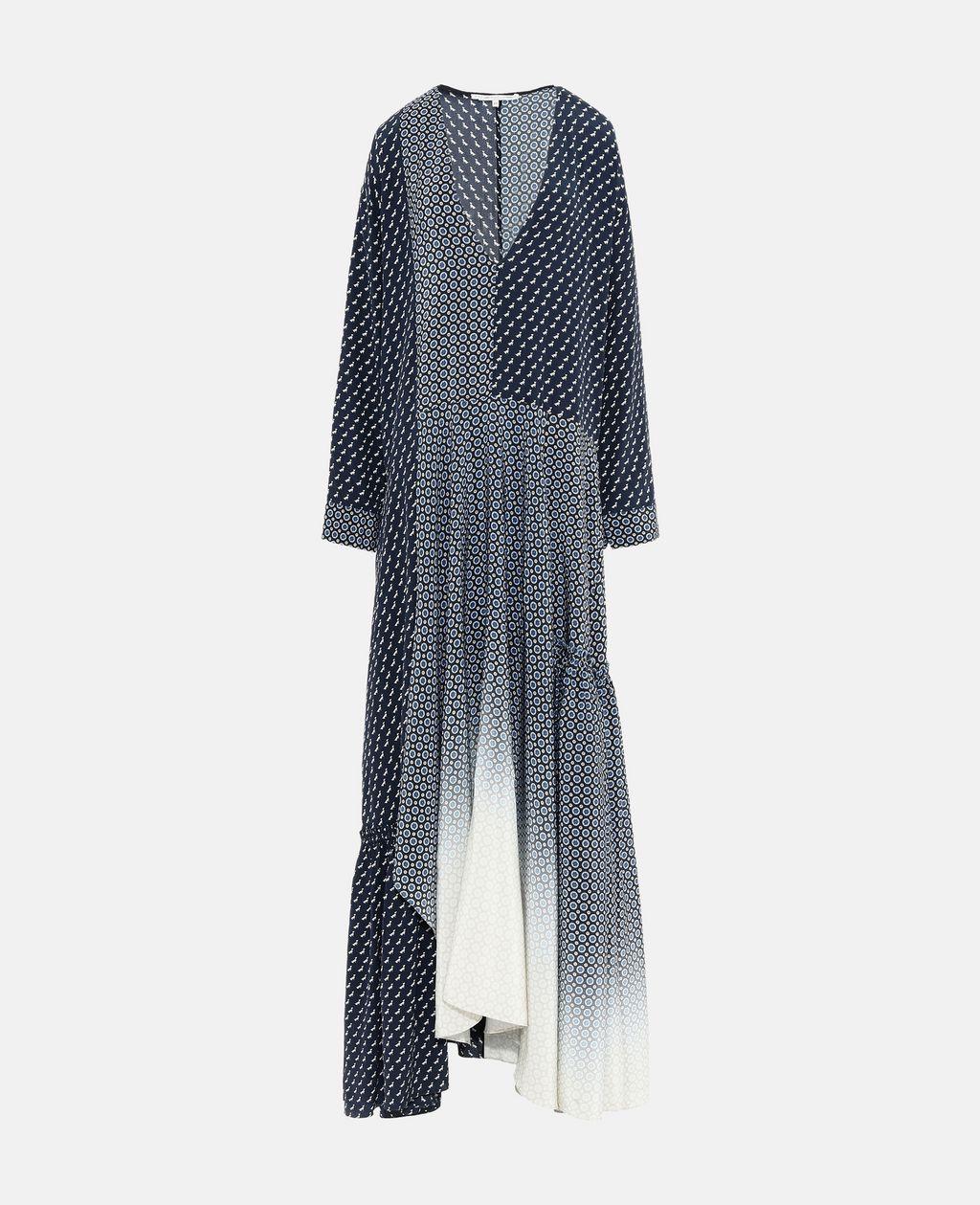 Dominique Tie Print Dress - STELLA MCCARTNEY