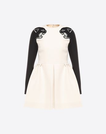 VALENTINO Embroidered dress D NB2VAD501CF 0AN f