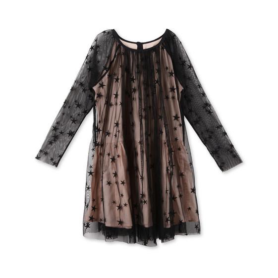 Misty 黑色星星连衣裙