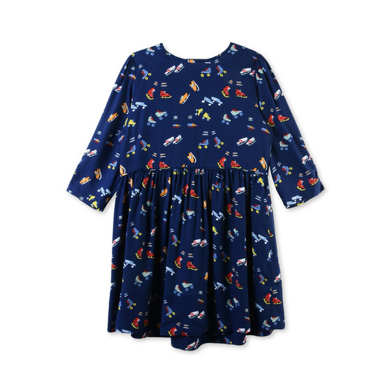 Meadow Roller Skates Print Dress