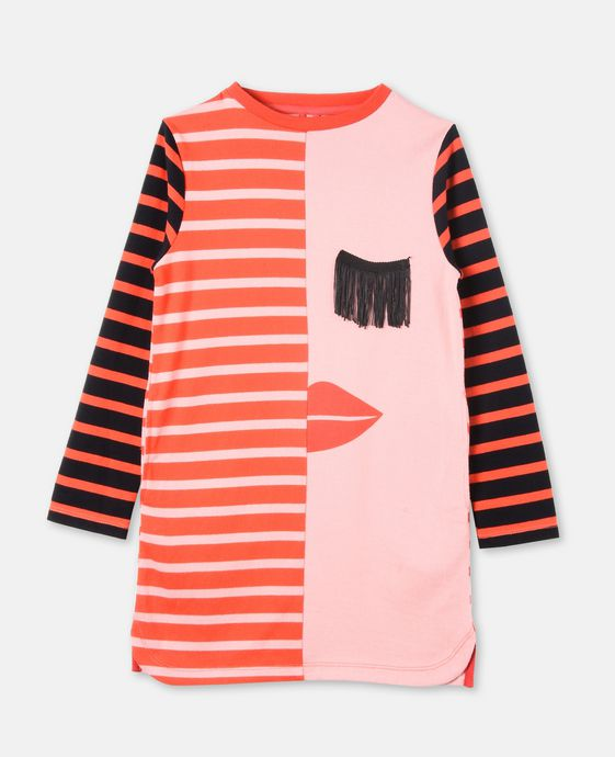 Kora Pink Striped Dress