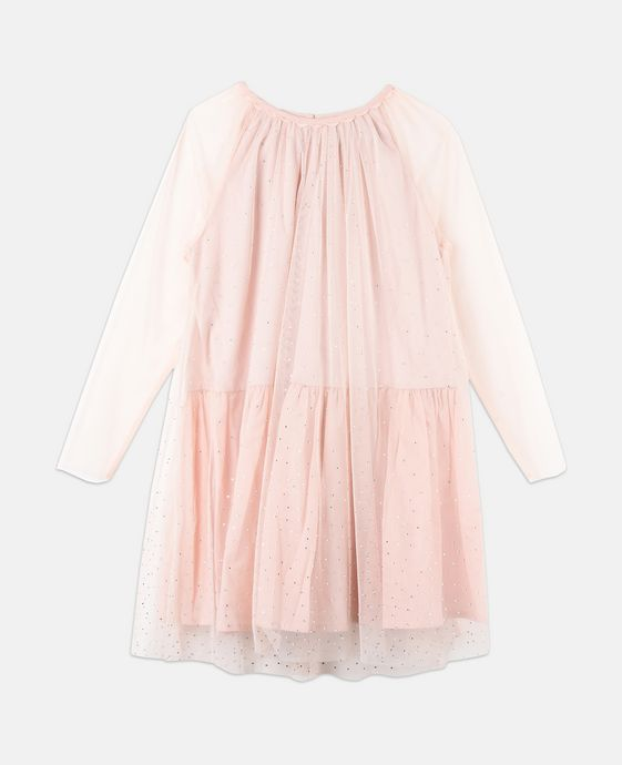 Robe Misty rose scintillante