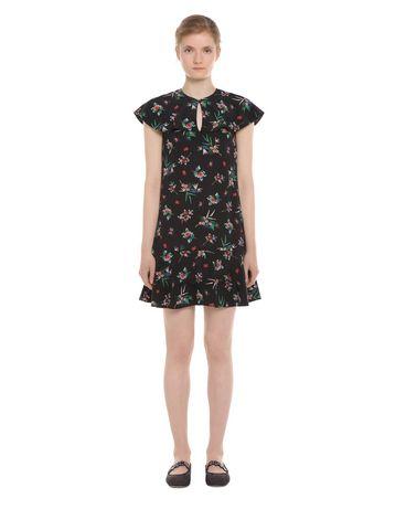 REDValentino NR3VA56134N 0NO Printed dress Woman f
