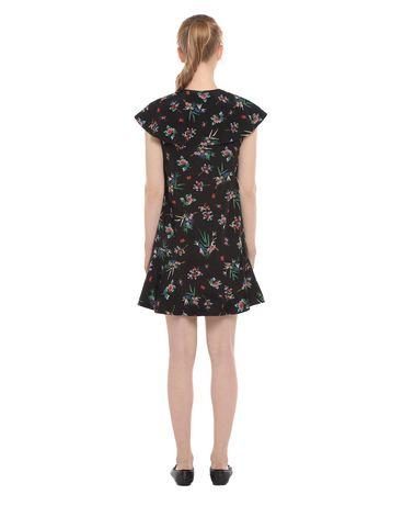 REDValentino NR3VA56134N 0NO Printed dress Woman r