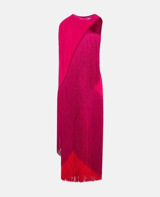 STELLA McCARTNEY Joelle Fringe Dress Maxi D c