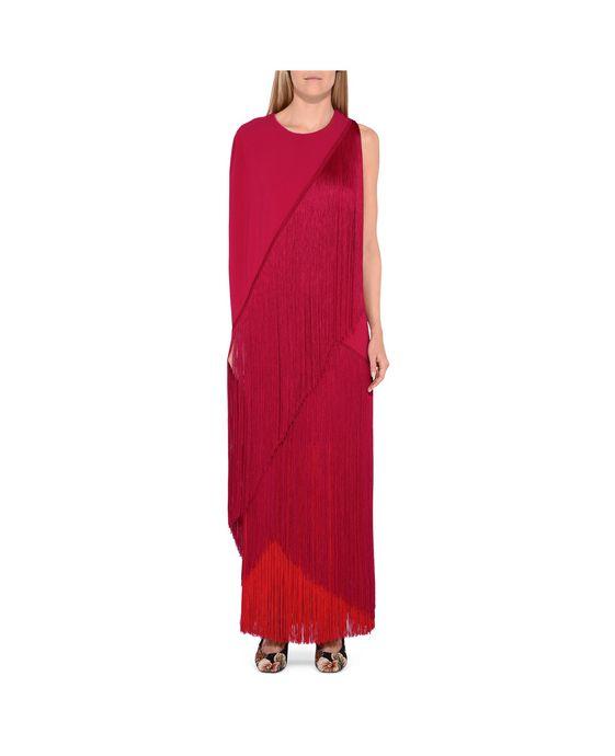 STELLA McCARTNEY Joelle Fringe Dress Maxi D i