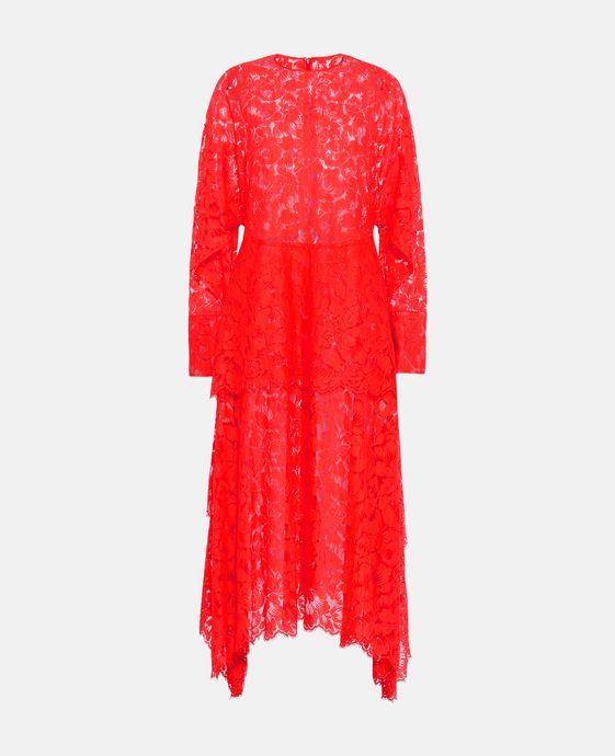 Virginia RedLace Dress