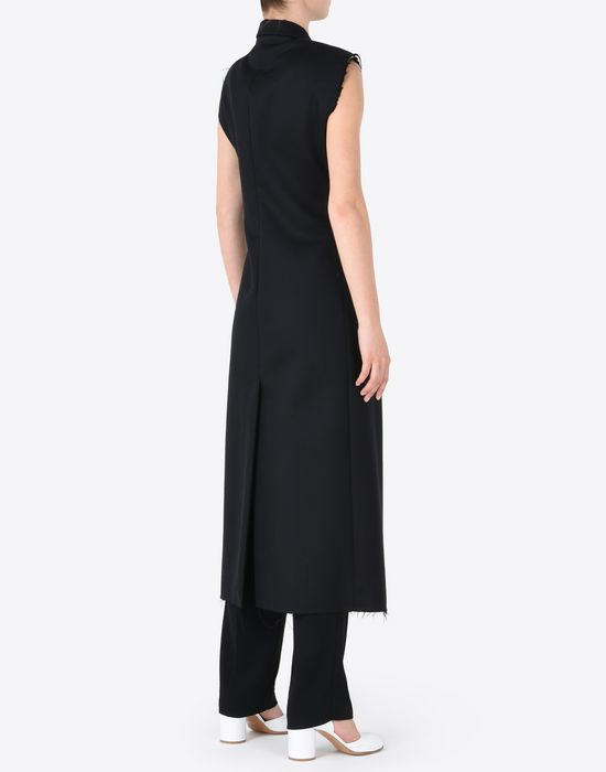 78d8f92f205e Maison Margiela Sleeveless Wool Coat Dress Women | Maison Margiela Store