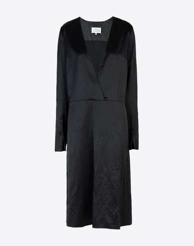 MAISON MARGIELA 4 3/4 length dress D Midi lining dress f