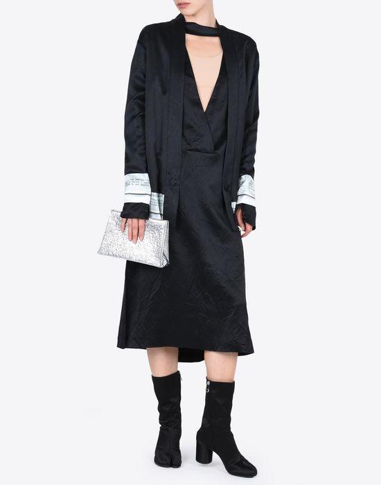 MAISON MARGIELA 4 ミディ ライニング ドレス 7分丈ワンピース・ドレス D d
