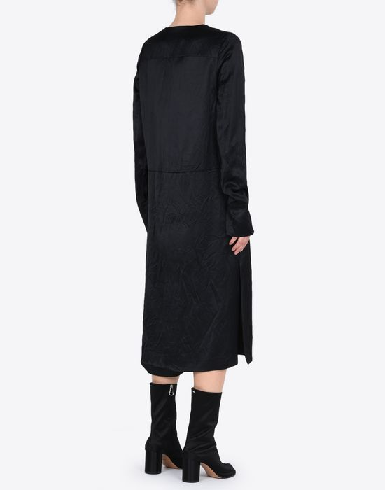 MAISON MARGIELA 4 ミディ ライニング ドレス 7分丈ワンピース・ドレス D e