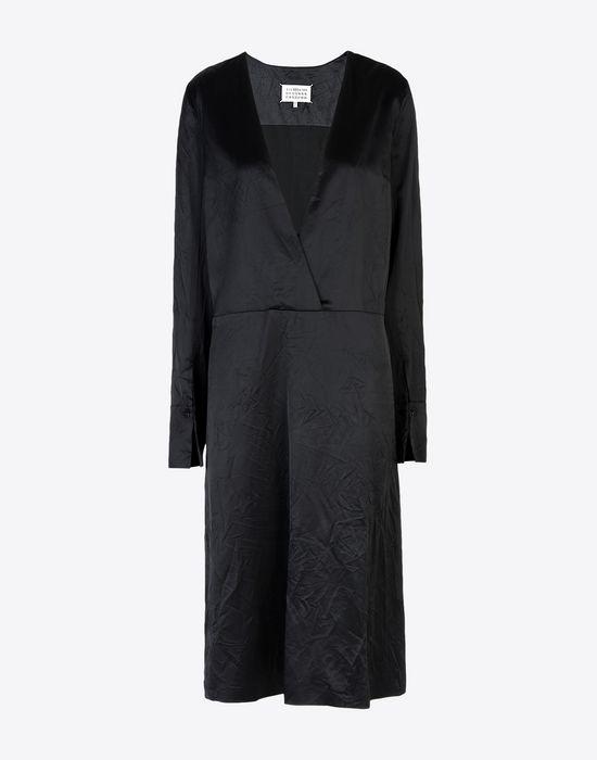 MAISON MARGIELA 4 ミディ ライニング ドレス 7分丈ワンピース・ドレス D f