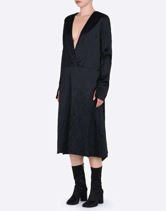MAISON MARGIELA 4 ミディ ライニング ドレス 7分丈ワンピース・ドレス D r