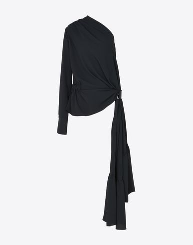 MAISON MARGIELA 1 Blouse D Draped asymmetric top f
