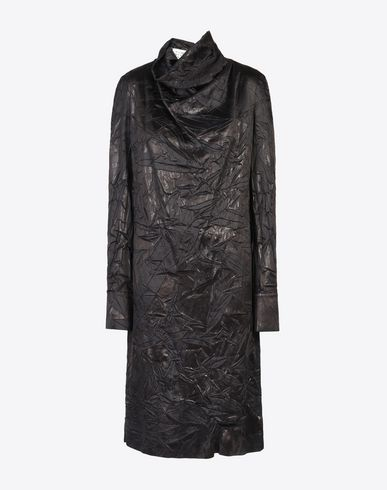 MAISON MARGIELA 3/4 length dress D Draped lining dress f