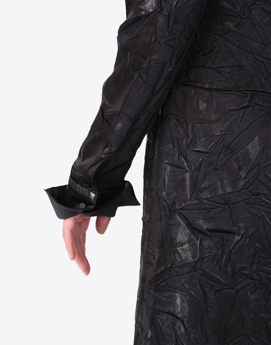MAISON MARGIELA ドレープ ライニング ドレス 7分丈ワンピース・ドレス D a