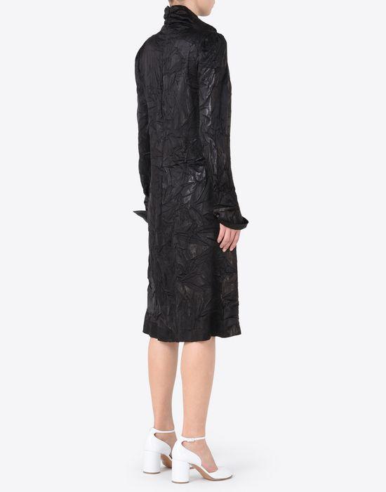 MAISON MARGIELA ドレープ ライニング ドレス 7分丈ワンピース・ドレス D e