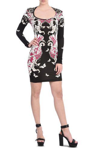 JUST CAVALLI Short dress D Short dress with round neckline r