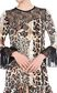JUST CAVALLI Short dress with lace inserts Short dress Woman e
