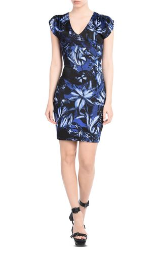JUST CAVALLI Short dress D Short, deep V neck dress f