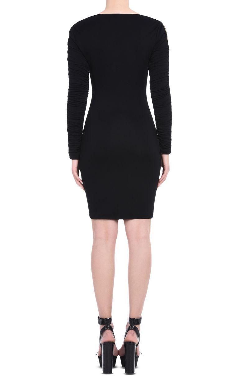JUST CAVALLI Short dress with bateau neck Short dress Woman d