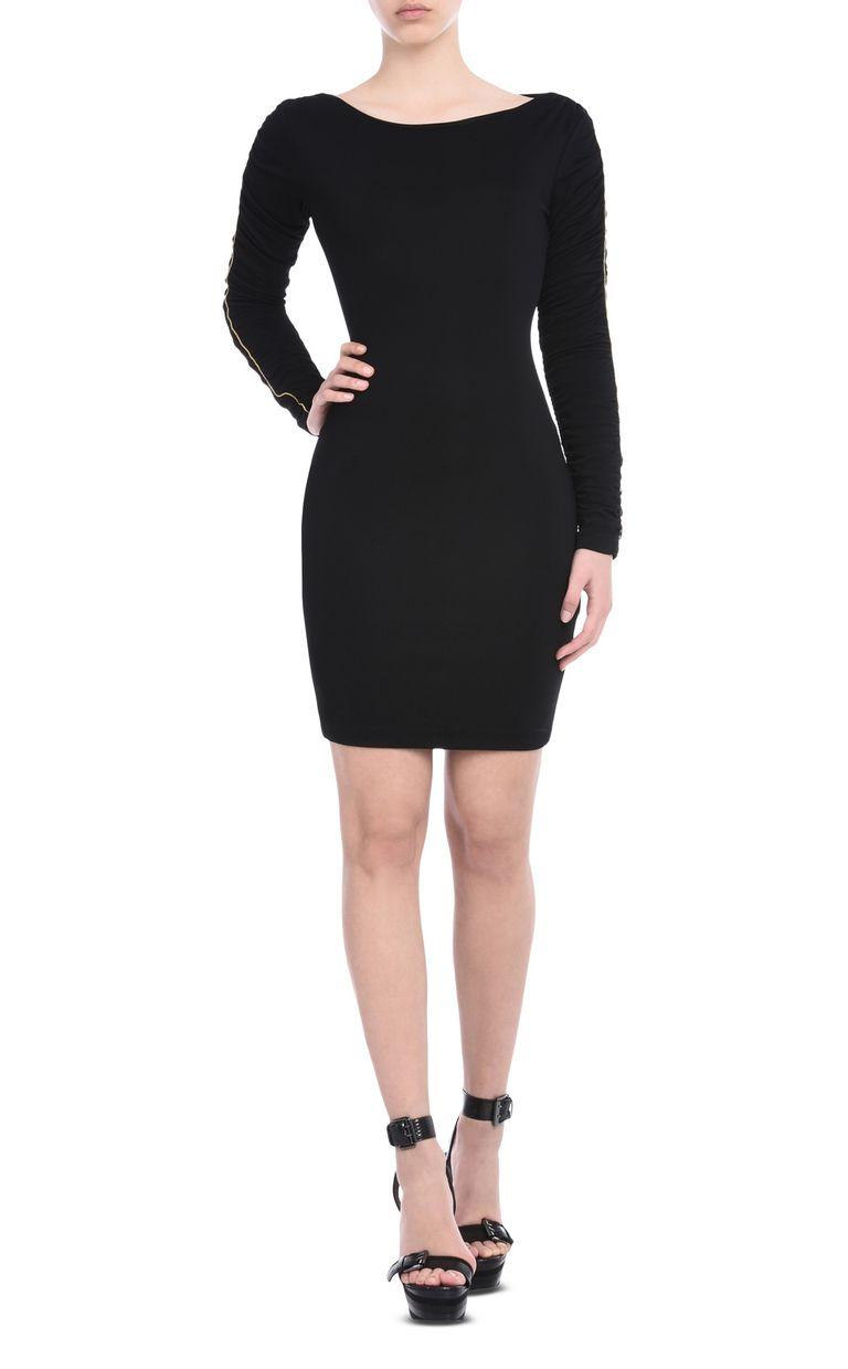 JUST CAVALLI Short dress with bateau neck Short dress Woman f