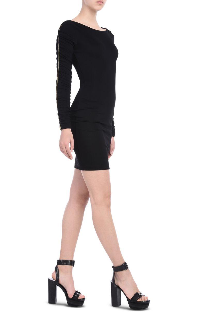 JUST CAVALLI Short dress with bateau neck Short dress Woman r