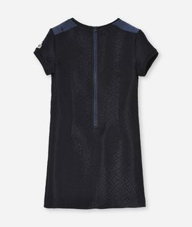 KARL LAGERFELD FANCY QUILTED SWEATDRESS