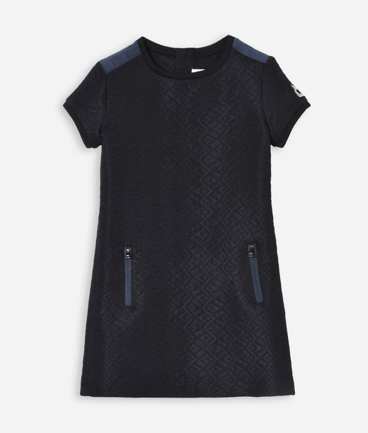 KARL LAGERFELD FANCY QUILTED SWEATDRESS 12_f