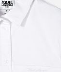 KARL LAGERFELD CONTRAST POCKET & COLLAR SHIRT 8_d