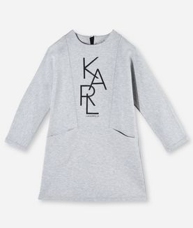 KARL LAGERFELD KARL GRAPHIC SWEATDRESS