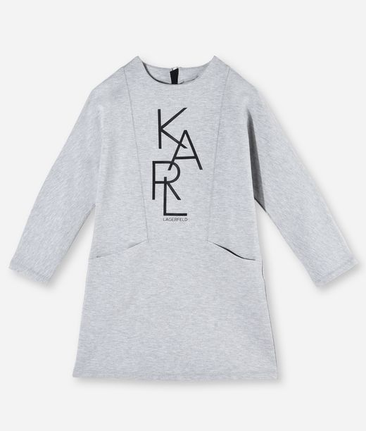 KARL LAGERFELD KARL GRAPHIC SWEATDRESS 12_f