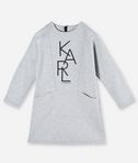 KARL LAGERFELD KARL GRAPHIC SWEATDRESS 8_f