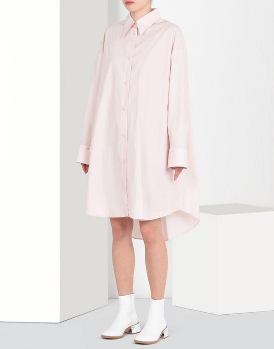 016af5b4949f6 MM6 MAISON MARGIELA Oversized shirt dress Short dress       pickupInStoreShipping info